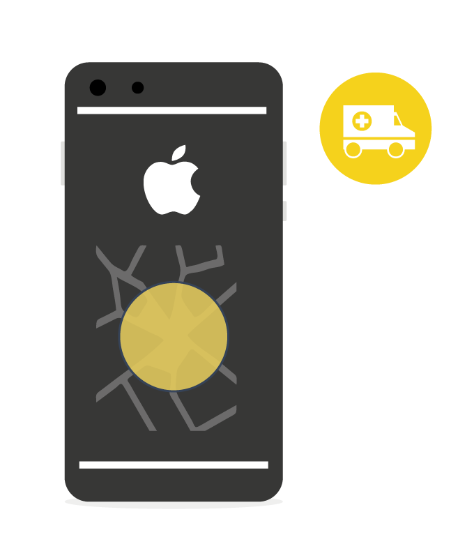 Sostituzione Back Cover Vetro Posteriore Iphone 8 Plus - PickPhone.it